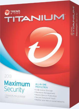 Trend Micro Titanium Maximum Security 2013